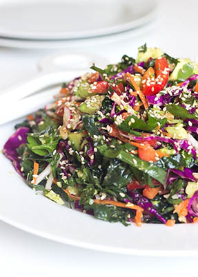 lemon dressing detox salad recipe