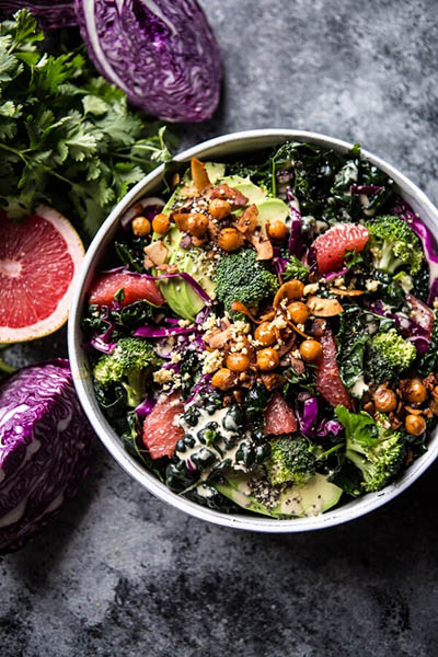 mean green detox salad