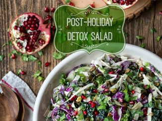 mean green detox salad recipe