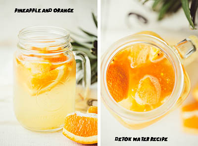 pineapple orange detox water recipe