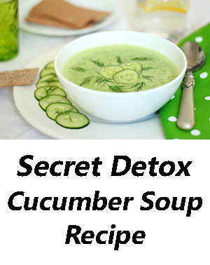detox cucumber soup recipe