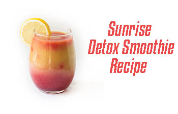 sunrise detox smoothie recipe