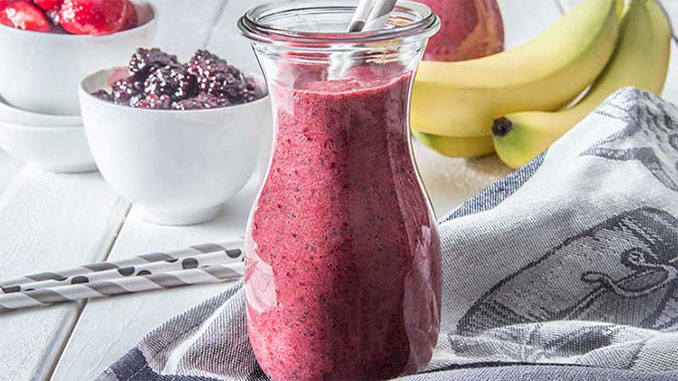 triple berry chia recipe