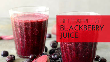 beet apple blackberry juice recipe