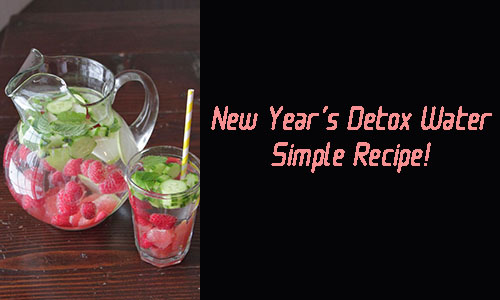 new year detox water recipe