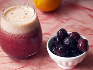 Cherry Orange Cranberry Detox Juice