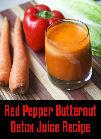 Red Pepper Butternut Detox Juice