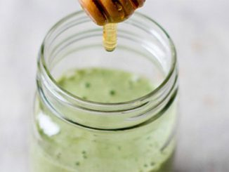 kale ginger detox smoothie
